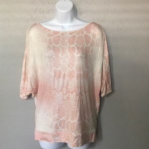 Juicy Couture Short Sleeve Top, Size Small